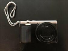 Panasonic Lumix DMC-TZ81 18.1 MP Kompaktkamera - Silber - Neuwertig - Bj. 2016