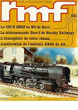RMF  N°231 150-X SNCF EN HO DE ROCO / TELECOMMANDE ZERO-1 DE HORNBY RAILWAYS