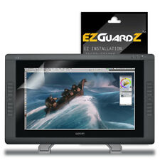 1X EZguardz LCD Screen Protector Shield HD 1X For Wacom Cintiq 22HD