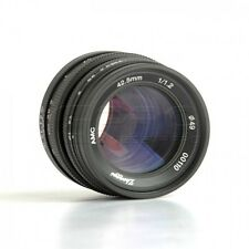 Mitakon ZY-Optics 42.5mm f/1.2 Lens Micro Four Thirds (MFT) Mount GH5 BMPCC UK!