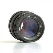 Mitakon ZY óptica 42.5mm Lente f/1.2 micro cuatro tercios (MFT) Monte GH5 BMPCC Reino Unido!