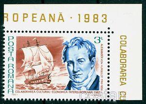 1983 Alexander von Humboldt,geographer,naturalist,explorer,biologist,Romania,MNH