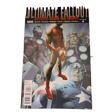 ULTIMATE FALLOUT #4, VF+NM 1ST PRINT, 1ST MILES MORALES, 2011 excellent comic
