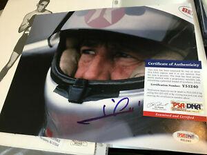 MARIO ANDRETTI Signed PSA/DNA COA Autograph 8x10 auto Indy 500 in the cockpit