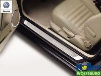 Original Volkswagen Einstiegsleiste VW Beetle Edelstahl Schriftzug Volkswagen