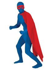 "Rouge 48 ""long superhero Cape Déguisement Superman Homme Femme Costume cape adulte"
