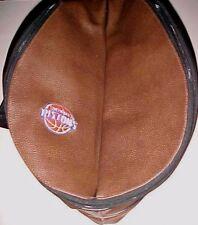 Detroit Pistons NBA Basketball Style Leather Bag Shoulder Strap Brown