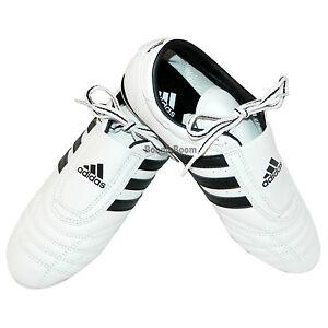 New adidas SM 2 Taekwondo Karate MMA Hapkido Martial Arts Indoor Shoes-WHITE