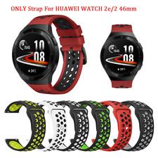 Reloj Para Huawei Tono Oro 2e Silicona Banda Correa Pulsera De Repuesto Transpirable Deporte