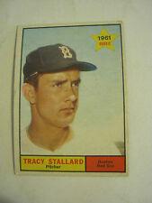 1961 Topps #81 Tracy Stallard, Rookie Baseball Card, Good Cond (GS2-b4)