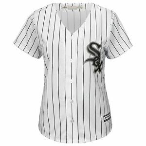 Majestic Chicago White Sox Baseball Jersey Womens XL Cool Base Ladies MLB Shirt