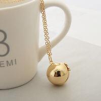 2017 New Secret Message Ball Locket Necklace Friendship Women Men Holiday Gifts