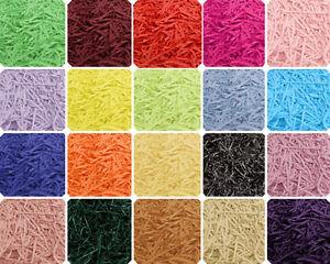 Shredded Tissue Paper 22 Colours 10g 20g 50g 100g Christmas Hamper Gift Packing
