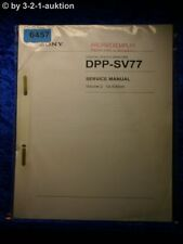 Sony Service Manual DPP SV77 Volume 2 1st Edition Photo Printer (#6457)