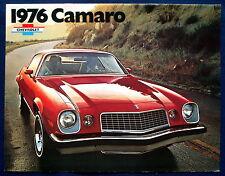 Prospekt brochure 1976 Chevrolet Chevy Camaro (USA)