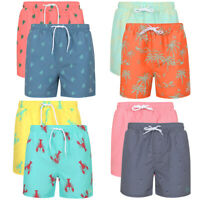 Tokyo Laundry Hawaiian Swim Shorts Board Surf Pool Beach Summer Holiday Swimming