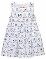 NWT Gymboree Baby Bunny Rabbit Print Dress Easter Baby Girl 0-3 month