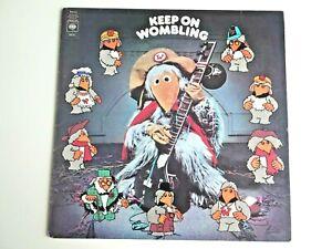 The Wombles Keep On Wombling Vinyl Record LP 1974 CBS Records inc Lyrics Sheet