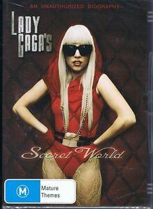 LADY GAGA'S SECRET WORLD DVD Music Documentary - NEW & SEALED