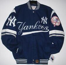 MLB New York Yankees Twill Cotton Navy  Jackets JH Design