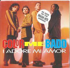 "Color Me Badd – I Adore Mi Amor 7"" Vinyl single  Rare Poster Sleeve"
