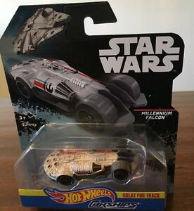 Star Wars Millennium Falcon Great For The Track Carships Hot Wheels *NEW*