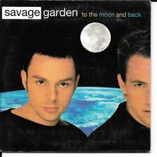 CD SINGLE 2 TITRES--SAVAGE GARDEN--TO THE MOON AND BACK--1998