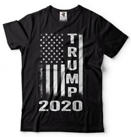 Donald Trump T shirt Vintage American Flag Maga Shirt President 2020 Trump 2020