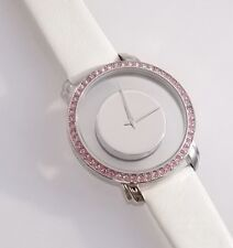 Akribos XXIV Women's Watch Circle of Breast Friends Limited Edition Crystals