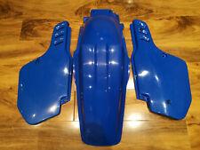 KAWASAKI KX 250 KX250 1988 1989 UFO Azul Trasero Fender mudguard Pro Circuit