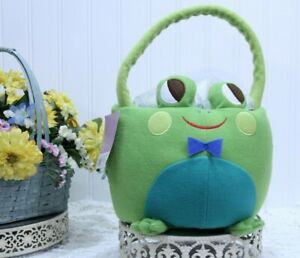 Halloween FROG by SPRITZ Plush Basket 3+ NEW Party Favor L-22 R