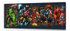 Marvel  long  canvas picture II