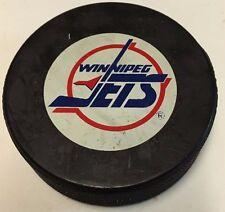 1990-92 Winnipeg Jets Official Game Hockey Puck NHL
