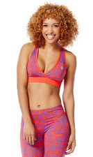 Authentic New Zumba Scribble V-Bra Top, ~  Rev Me Up  ~   MSRP  $32