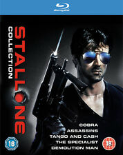 The Sylvester Stallone Collection Blu-ray DVD 2 Discs 5 Movies Cert 18