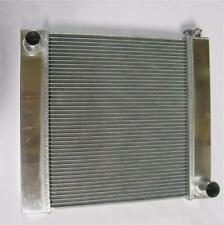 "Chevy Aluminum Universal Radiator 21"" x 19"" x 2.2"" GM Outlets Hot Street Rod"