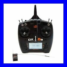 SPEKTRUM DX6E 6 CHANNEL DSMX RC AIRPLANE HELI TRANSMITTER WITH AR610 RX SPM6650