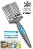 "Harris 3"" Paint Brush No Bristle Loss Quality Decorating Emulsion Painting Brush"