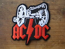 ECUSSON PATCH THERMOCOLLANT aufnaher toppa AC DC hard rock biker musique harley