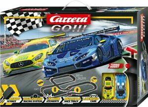 Carrera GO!!! 62480 DTM Victory Lane Electric 1/43 Slot Cars Track Set 2 cars