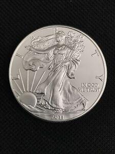 2011 ASE American Silver Eagle Walking Liberty 1oz Silver Coin 1 oz