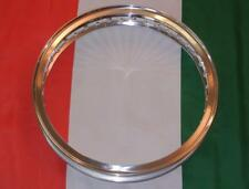 """UNDRILLED DIMPLED ONLY - flanged alloy rim Made In Italy WM3 2.15"""" X 19"""" 40 hole"""