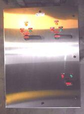 Abb N4X Stainless Steel 800A 600V Max Breaker Panel W/ Indicator Lights - New