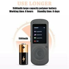 Smart Instant Real Time 37 Languages Voice Translator Portable Wifi Translator