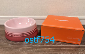 Le Creuset Dog / Cat Bowl Dish 18 cm / 7.08 inch Medium Natural Pink Pet Food