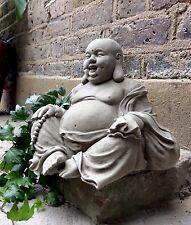 Muy bien detallada estatua budas feliz (6kg) para el hogar o jardín de Sius