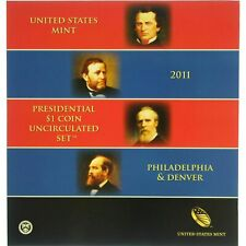 2011-P&D $1 Presidential Dollar BU Unopened 8 Coin Set  20ltoc0220 $2 Shipping