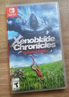 Xenoblade Chronicles Definitive Edition Nintendo Switch Excellent Condition