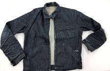Great China Wall Men's Denim Jacket Large Dark Blue