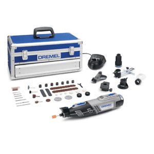 Dremel 8220-5/65 12v Cordless Multi Tool Kit 5 Attachments & 65 Accessories